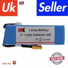 XK 380 11.1V(3S) 5400mAh 20C Lipoly Battery Spare Parts for X380A X380B X380C RC