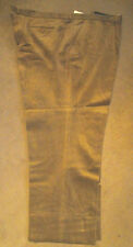 "New Men's Cords Corduroy Brown Waist 54"" Inside Leg 28.5"""