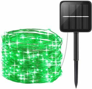 Outdoor Solar Fairy String Lights Copper Wire Waterproof Garden Decor 100/200LED