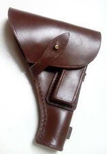 Original Russian Army Polish TT 33 Pistol (Tulskiy Tokarev) leather holster