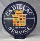 "CADILLAC SERVICE GAS PUMP GLOBE 13.5"""