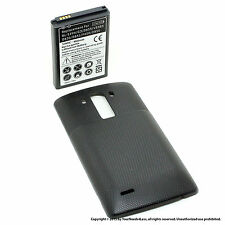 6800mAh Extended Battery for LG G3 D830 D851 Black Cover
