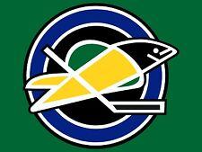 OAKLAND SEALS VINTAGE LOGO NHL FRIDGE MAGNET