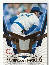 FERGIE JENKINS 2004 SP LEGENDARY CUTS SIGNIFICANT SWATCHES GAME USED JERSEY
