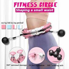 Smart Sport Hoop Detachable Adjustable Thin Waist Abdominal Exercise Gym Fitness