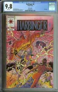 HARBINGER #0 CGC 9.8 WHITE PAGES