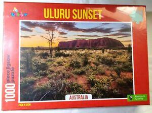 Uluru Sunset Australia 1000 Piece Jigsaw Puzzle 75 cm x 52 cm Funbox