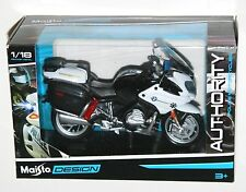 Maisto - California Highway Patrol BMW R1200RT Police Motorbike Model Scale 1:18
