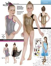 Jalie Asymmetrical Leotard Gymnastics Costume Sewing Pattern 3354