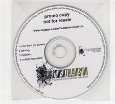 (GP662) Car Crash Television, Order From The General - 2008 DJ CD