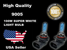 USA Seller Xenon Headlight Bulb -100w Super White 9005+9006 High+Low Beam -B