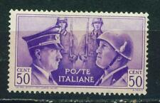 Germany Italy Axis WW2 Hitler and Mussolini 1941 MLH L0.50