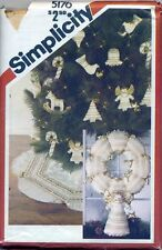 SIMPLICITY 5176 CHRISTMAS HOLIDAY PATTERN