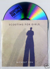 SCOUTING FOR GIRLS Without You 2012 UK 1-trk promo test CD