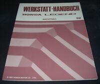 Werkstatthandbuch Honda Legend ab Baujahr 1992 Reparaturanleitung