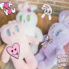 ESTHER KIM bunny fluffy soft bag backpack blanket korean jp style kawaii cute