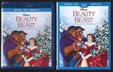 DISNEY BEAUTY AND THE BEAST ENCHANTED CHRISTMAS BLU-RAY + DVD + DIGITAL HD