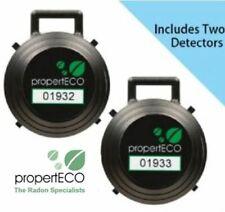 PropertECO 3 month Radon Test Kit / Reliable test kit for radon gas / UK Seller