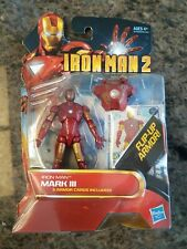 "MARVEL MOVIE SERIES IRON MAN 2 MARK III   3.75"" ACTION FIGURE #03"