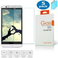 5x Nacodex For HTC Desire 510 Premium Tempered Glass Screen Protector HD