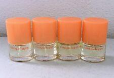 Lot 4 X Clinique Happy Perfume  Spray 0.14 oz / 4 ml Each