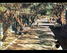 LE HOGGAR / TAMANRASSET (ALGERIE) RENAULT R16 aux VILLAS animées