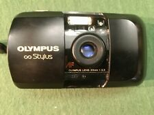 Olympus Stylus 35mm Camera W/ quartzdate Point & Shoot - Film Tested- Works