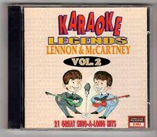 (GY560) Karaoke Legends - Lennon & McCartney - 1995 CD