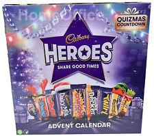 Cadbury héroes de chocolate Navidad Calendario de Adviento 2020 230g
