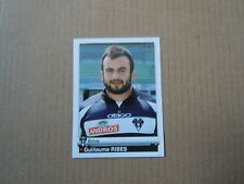 Vignette panini - Rugby 2012 N°122 - Guillaume Ribes - Brive