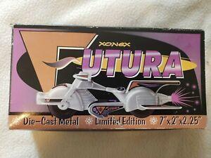 """Futura Bike XONEX UTURA die-cast Metal limited. No. 1707 of 15,000 7""""x2"""" x2.25"""""""
