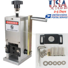 Manual Copper Wire Stripping Machine Hand-cranking Drill Operated Cable Stripper