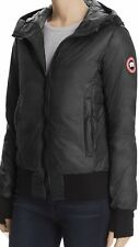 NWT 100% Authentic Canada Goose Dore Down Hooded Packable Black Jacket Size S
