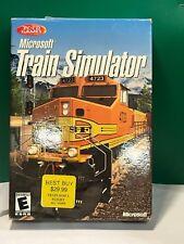 Microsoft Train Simulator BIG BOX (COMPLETE) (PC, 2001) (VG CONDITION)