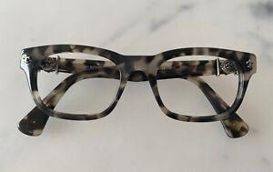 Chrome Hearts Brille Kunststoff Brillengestell Brillenfassung Unisex GR 49