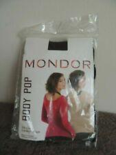 Mondor Body Pop Long Sleeve mesh top 816 Black