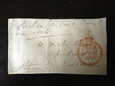 4th EARL ALBEMARLE - POLITICIAN & RACEHORSE OWNER - SIGNED ENVELOPE FRONT 1836