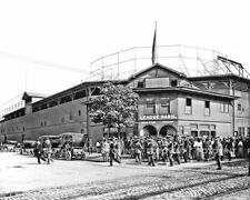 CLEVELAND INDIANS Photo Picture LEAGUE PARK Baseball Vintage Stadium 8x10 11x14