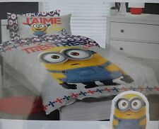 DESPICABLE ME - MINIONS BNIP Single Bed Quilt / Doona / Duvet cover set