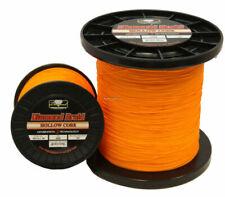 300 yards Orange Momoi Diamond Braid Generation III Fishing Line 8X 15lb