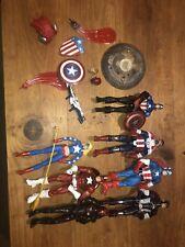 Marvel Legends Huge Lot Of 7 Action Figures Redskull Captain America And More!