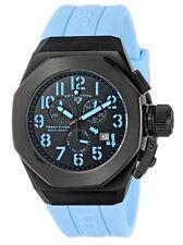 Swiss Legend 10542-BB-01-BBLA Trimix Diver Chronograph Watch Black & Blue NIB!