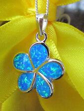 Ovale Halsketten und Anhänger aus Edelsteinen mit Opal-Hauptstein für Damen