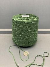 500G 4NM ACRYLIC CHENILLE YARN GREEN SAGE