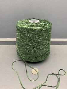 500G 4NM Acrílico Felpilla Hilo Verde Salvia