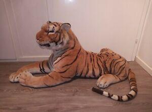 Tiger Raubkatze Morgenroth XXL 115cm Plüschtier Plüsch Kuscheltier Stofftier