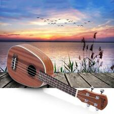 "21"" Pineapple-shaped Soprano Ukulele Sapele Matte Perfect Gift For Children 2S5X"