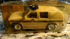 Texas state police Chevy Tahoe 1:64 Golden Wheel