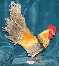 AWESOME NEW ROOSTER WITH FEATHERS! CHICKEN COLLECTION