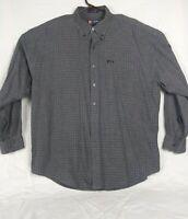 Chaps Ralph Lauren Multi Color Size XL Long Sleeve Button Front Shirt
